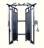 Polia ajustável dupla, Fitness Body Building Gym Strength Equipment