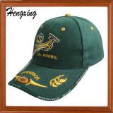 3D刺繍が付いているFbiの野球帽は、あなた自身の野球帽を設計する