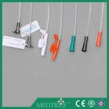 CE/ISO 승인되는 처분할 수 있는 의학 모자 콘 연결관 흡입 카테테르 (MT58029001)