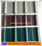 浮彫りにされた表面カラー上塗を施してあるPPGI屋根ふきシート