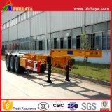 20FT 40FT Chassis van de Aanhangwagen van de Vrachtwagen van het Skelet van het Staal van het Vervoer van de Container de Semi