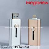 Mfi는 iPhone와 iPad 사용을%s 조명과 USB 섬광 드라이브를 증명했다