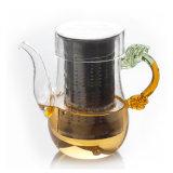 Theepot Van uitstekende kwaliteit van het Glas Borosilicate van Nice de Hittebestendige (CHT8143)