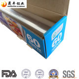 Papel de aluminio del acondicionamiento de los alimentos de la cocina