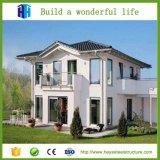 Prefabricated 2층 가벼운 강철 구조물 프레임 아파트 건물