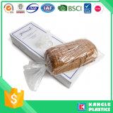 Sachets en plastique clairs de catégorie comestible sur le roulis pour le pain