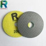 200# Grit Electroplated pastilhas de polimento de granito