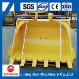 Cubeta resistente e durável da máquina escavadora para a máquina escavadora do Backhoe