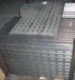 Rouleau de matériau traditionnel de froid en acier usiné vierge de la plaque de grille de flexion de perforation emboutissage de métal partie
