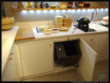 2015 Proyecto de América Welbom lacado Armario de Cocina