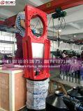 Valvola a saracinesca resistente della lama dei residui della macchina d'estrazione della cenere di Kgd