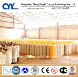 Acétylène Nitrogène Argon Oxygène Dioxyde de carbone Cylindre à gaz en aluminium