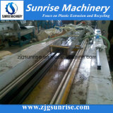 Chaîne de production en plastique de profil de PVC WPC de machine