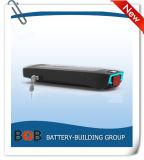 batteria elettrica di potenza della batteria dello Li-ione della cremagliera della parte posteriore della batteria di litio della batteria della batteria 3.7V della bicicletta della bici del litio di 48V 8.8ah-13.6ah della batteria della E-Bici del pacchetto elettrico della batteria