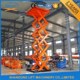 China Hot DIP Galvanisé Hydraulique Electric Scissor Lift avec Ce