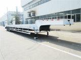 半2016販売のための3つの車軸60tonsが付いている新しく低いベッドのトレーラー