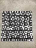 De marmeren Ideeën van Backsplash van de Tegels van de Muur van de Vloer van de Keuken van de Ontwerpen van de Badkamers van het Mozaïek