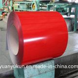 À la fine pointe de la chaleur laminée à froid Couleur Couleur Coated Steel Coil Zink Printing