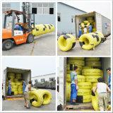 شعاعيّ نجمي شاحنة إطار العجلة [315/80ر22.5] مزدوجة طريق إشارة بارزة جديدة كاملة شاحنة إطار من الصين