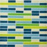 Nuevo azulejo de mosaico de cristal 2017 para la piscina