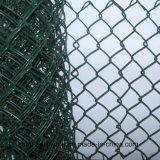 Bunter Belüftung-überzogener Kettenlink-Zaun mit niedrigem Preis