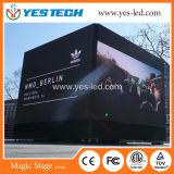 의 단계, 연주회, 스포츠를 위한 풀 컬러 옥외 실내 임대료 LED 영상 벽 광고
