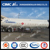 Cimc Huajun 2axle Alloy Aluminium Chemical Liquid Tanker
