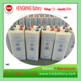 Tipo Pocket série de Hengming da bateria de cádmio niquelar Gnz/Kpm (bateria Ni-CD) para a central eléctrica