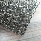 스테인리스 로의 세라믹 섬유 절연제를 위한 뜨개질을 한 철망사 부대