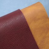 袋のための浮彫りにされた模造PVCスポンジの革PVCによって薄板にされるファブリック