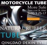 Tubo Interno de Borracha Natural Motorccyle Tripas motocicleta 3.00/3.25-17