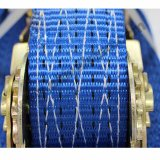 Подгонянная планка аттестованная Ce храповика TUV GS полиэфира голубым хлеща 5tons