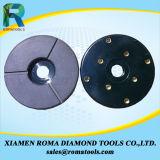 Диски диаманта Romatools меля для цвета конкретного пола красного