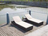 Meubles en rotin chaude en plein air/ Rotin Sun lit/bain de soleil (ML-108)