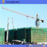 China Kits Superior Auto erecção 5 Ton a construção de grua-torre Fabricante Qtz63-5010
