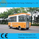 Carro eléctrico del alimento de los pequeños vendedores mini para la venta con el Ce de 4 baterías aprobado