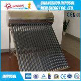 Calefator de água quente solar compato