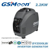 2.2kVA承認のコンパクトな極度の無声デジタルインバーター発電機