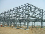 Naves de acero de construcción ligera Estructura de Depósito de almacenamiento / Acero