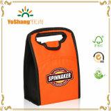 La vente chaude a personnalisé le sac non tissé bon marché de refroidisseur de déjeuner isolé par polyester des prix