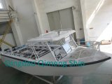 28FT 8.6m Center Cabin Aluminum Fishing Boat with Hardtop