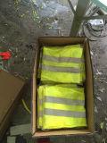 무료 샘플 황색 도로 안전 보호를 위한 사려깊은 안전 달리기 조끼