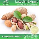 100% натуральные арахис Shell извлечения Luteoline 98% (CAS нет: 491-70-3)