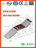 Sistema de escadas de andaime com design de montagem