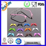 Fechamentos da orelha dos Eyeglasses do silicone do amigo do desgaste do Eyeglass