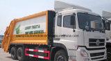 6X4는 195kw 패물 수레 20t 쓰레기 압축 분쇄기 쓰레기 트럭 가격을 주문을 받아서 만들었다