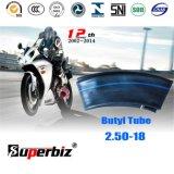 Butyl Binnenband van de Motorfiets van de Norm van ISO (2.50-18)