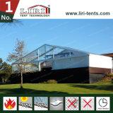 Fatastic 50m immense tente sur le toit transparent pour l'exposition en plein air