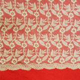 Soluble tela de algodón del cordón de agua Craft (L5145)