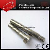 Goujon de vis à vis en acier inoxydable avec écrou hexagonal DIN DIN975976